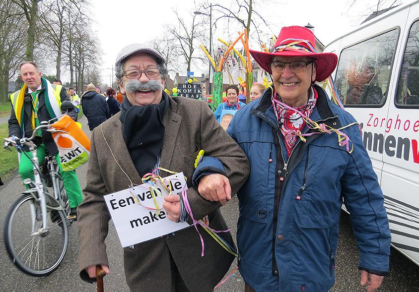 Carnaval bij Zorghoeve 't Binnenveld